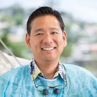 Dr. Russell Kim DDS at Windward Smiles In Kaneohe, Hawaii